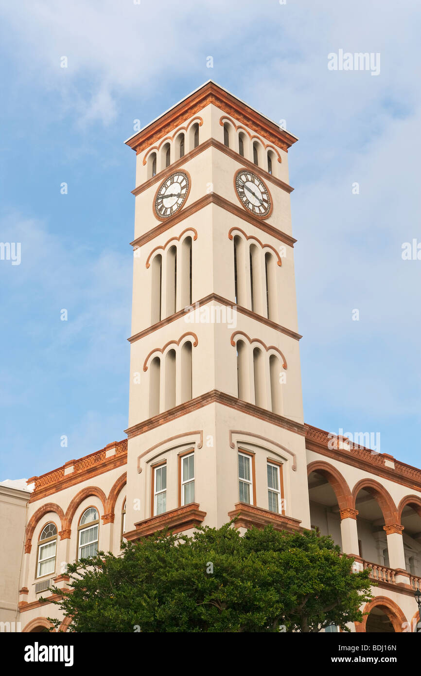 Bermuda, Hamilton, the Sessions House - Stock Image