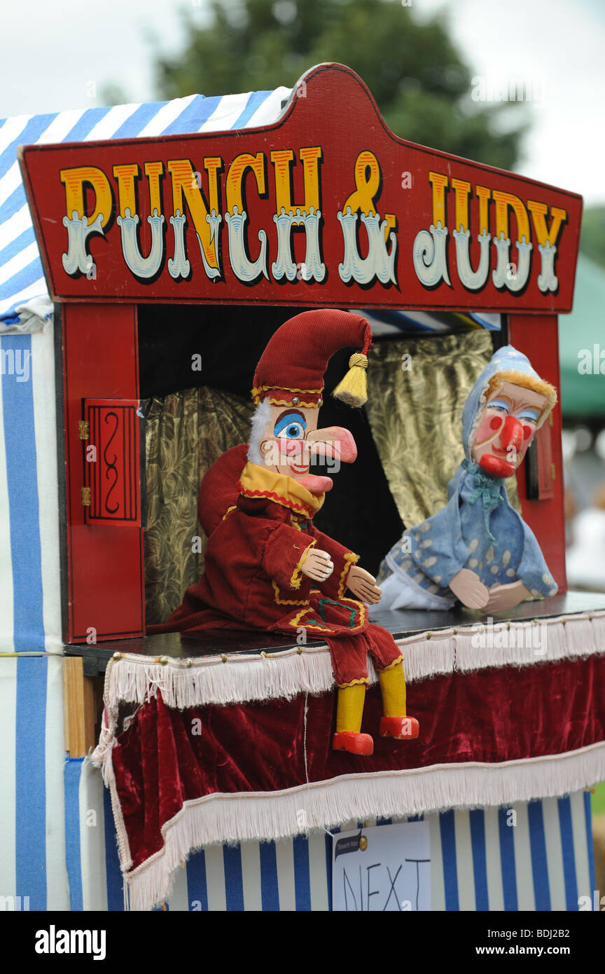 Punch and Judy show puppets - Stock Image