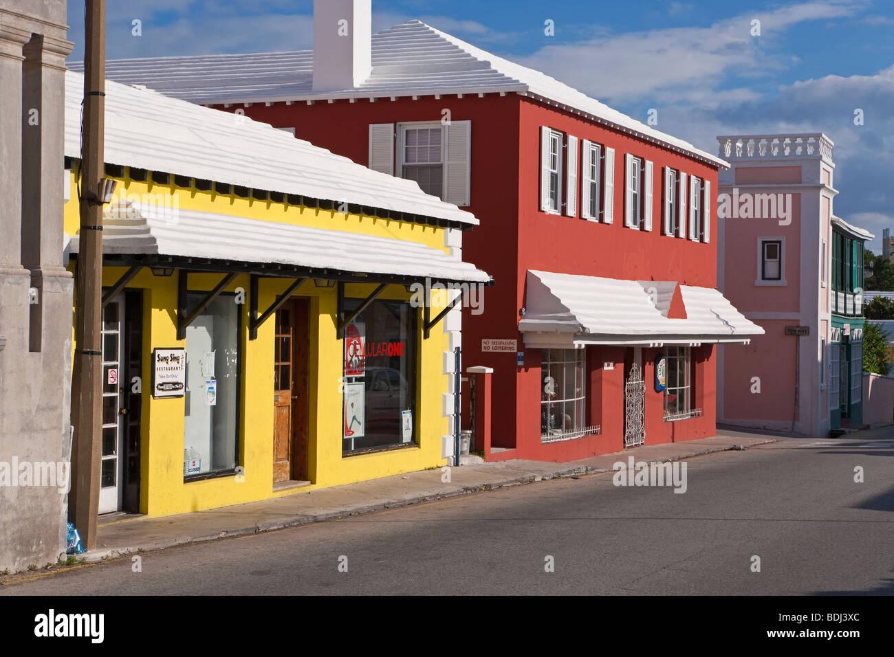 Bermuda, Atlantic Ocean, St. George's Parish, St George - Stock Image