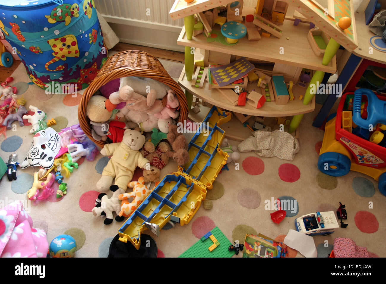 Messy Kids Room Toys Stock Photos & Messy Kids Room Toys ...
