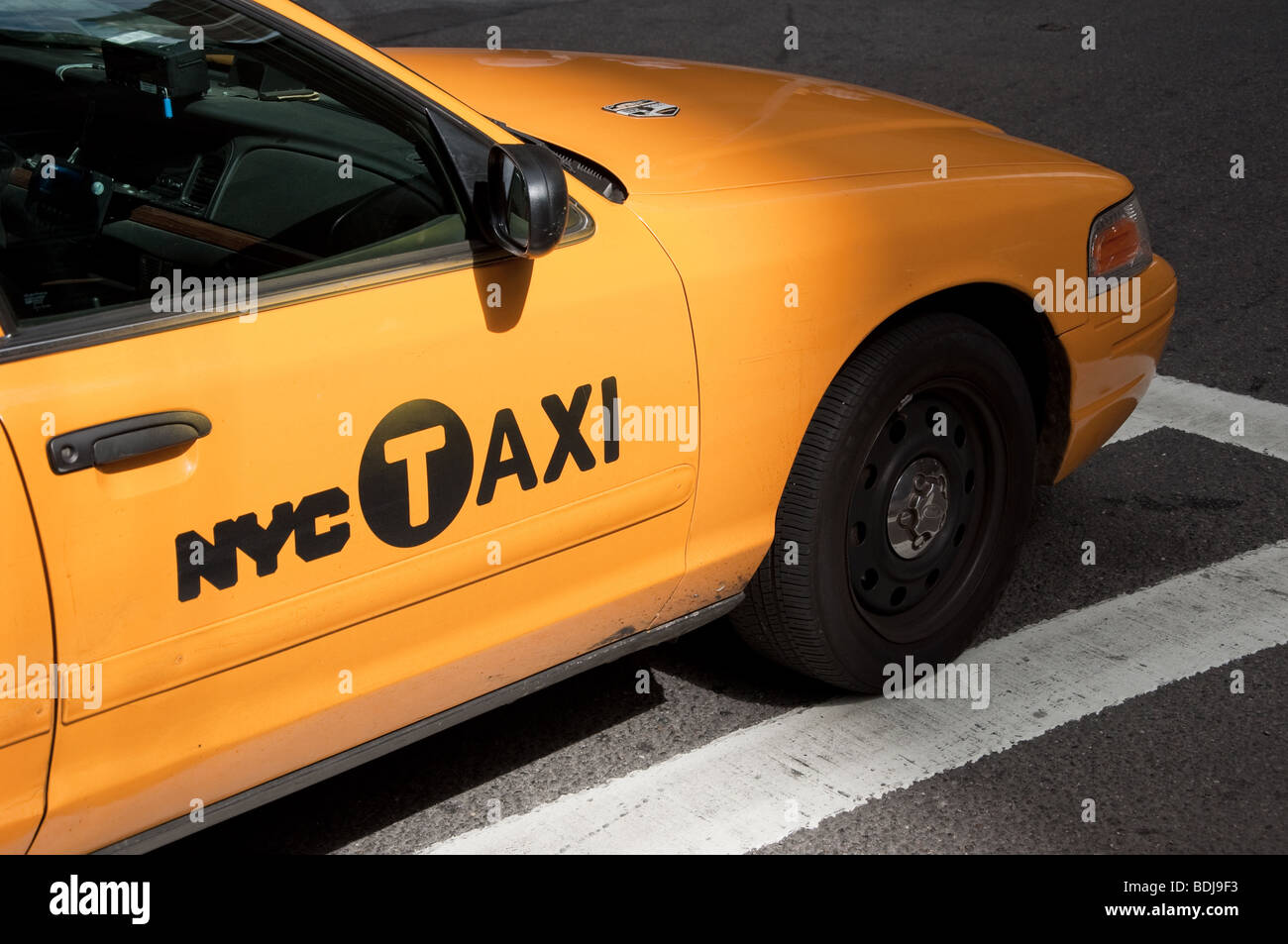 NYC Taxi - Stock Image