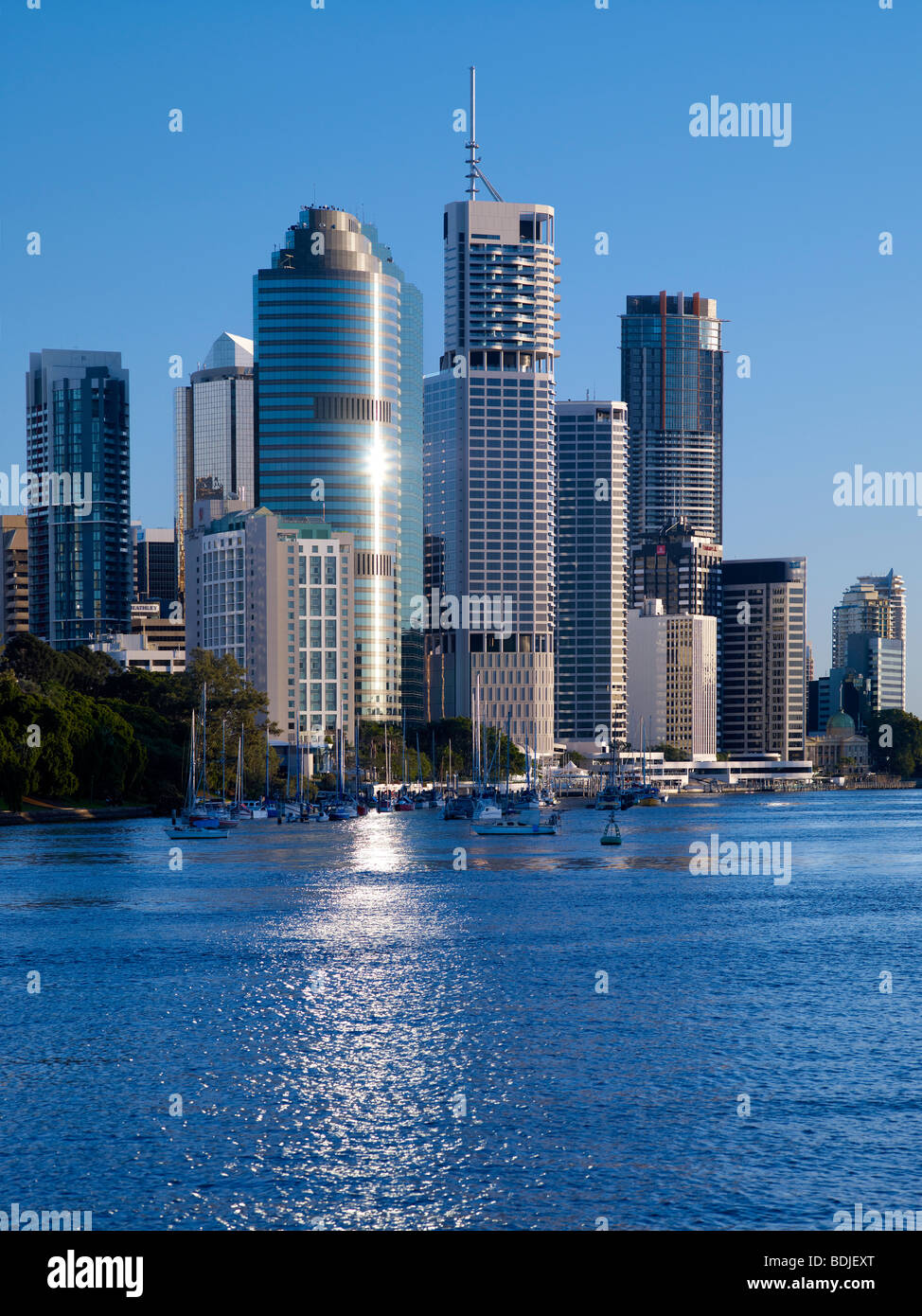Brisbane City Australia - Stock Image