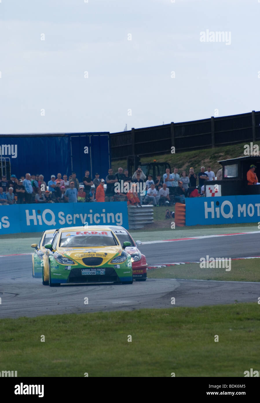 touring  cars racing at snetterton - Stock Image