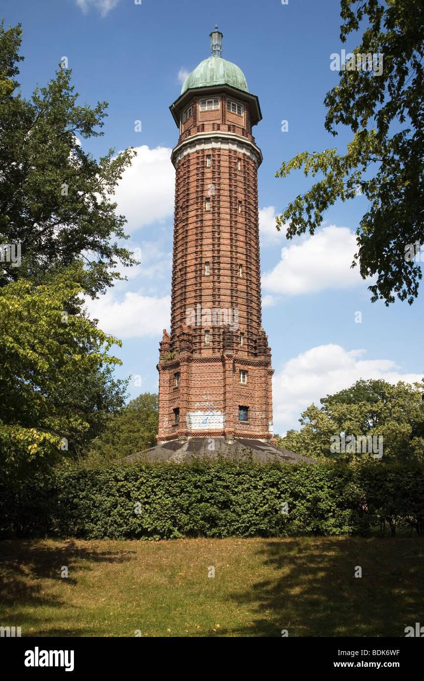 Wasserturm im Volkspark Jungfernheide, Charlottenburg, Berlin, Germany - Stock Image