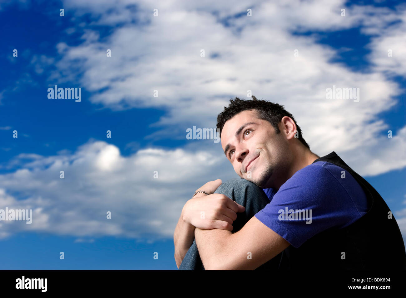 Daydreaming Man Stock Photo 25624512