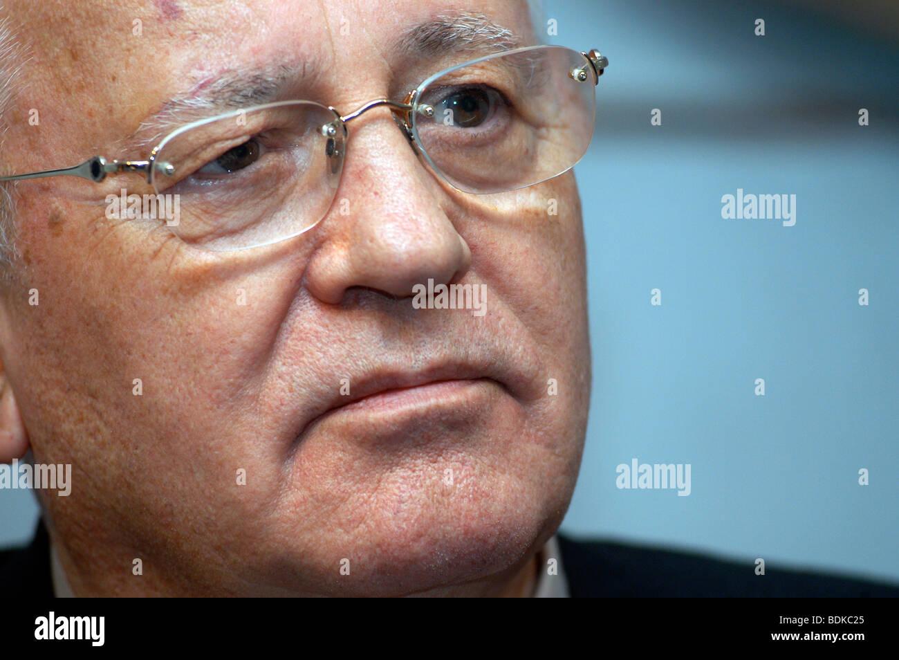 Mihail Gorbachov, Russian politician. - Stock Image
