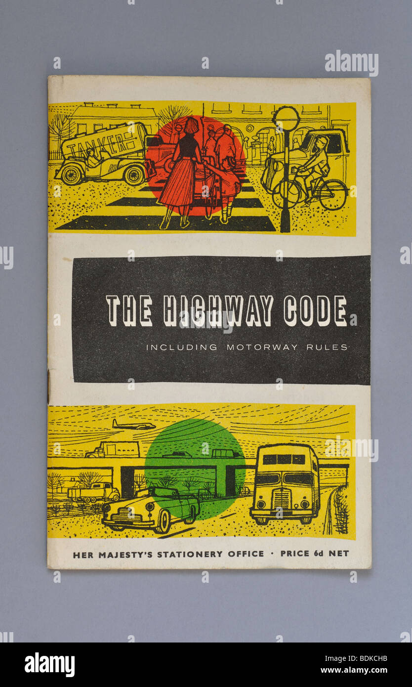 The Highway Code 1964 edition UK - Stock Image