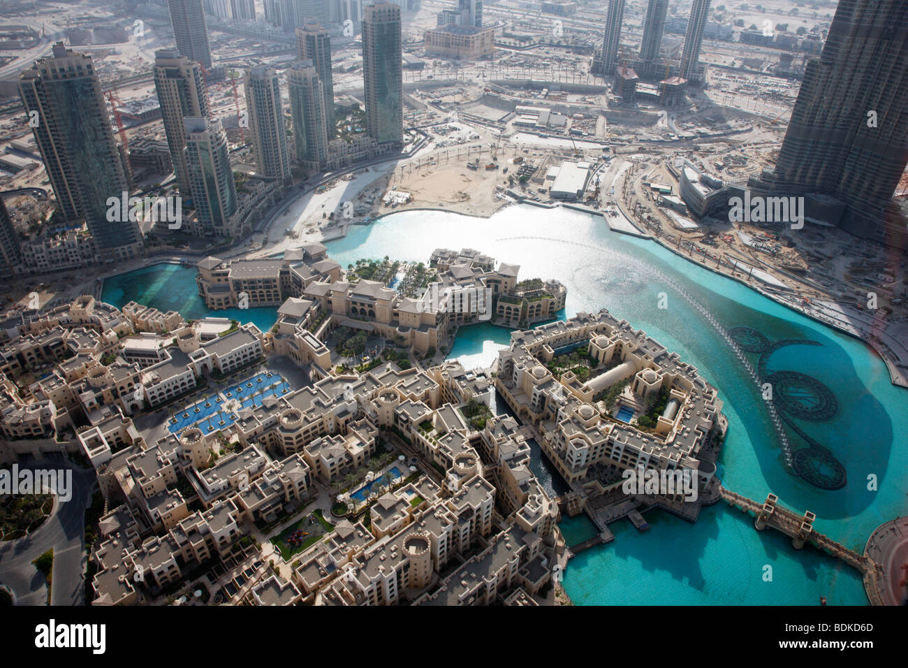 the palace hotel oldtown dubai luxury hotel in arabic style with stock photo 25628357 alamy. Black Bedroom Furniture Sets. Home Design Ideas