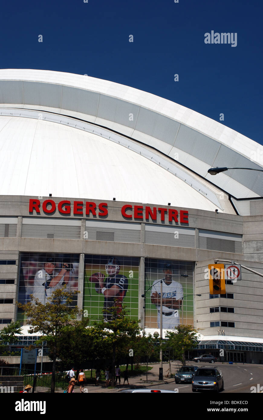 Rogers Centre in Toronto, Canada - Stock Image