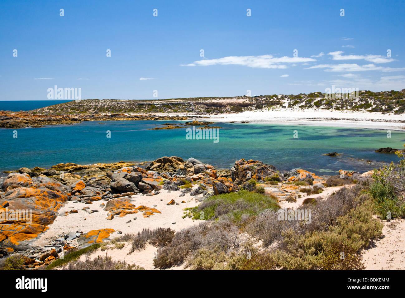 Corny Point, Yorke Peninsula, South Australia - Stock Image