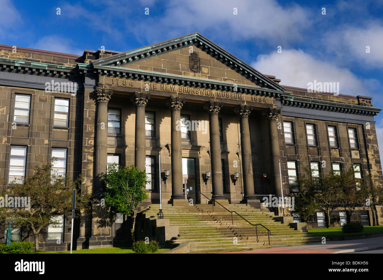 Archives and Research Library of the New Brunswick Museum in Saint John - Stock Image
