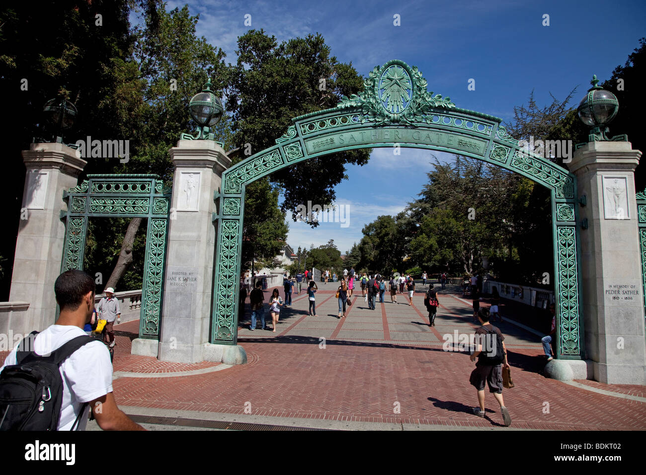 berkeley berkley college university - Stock Image