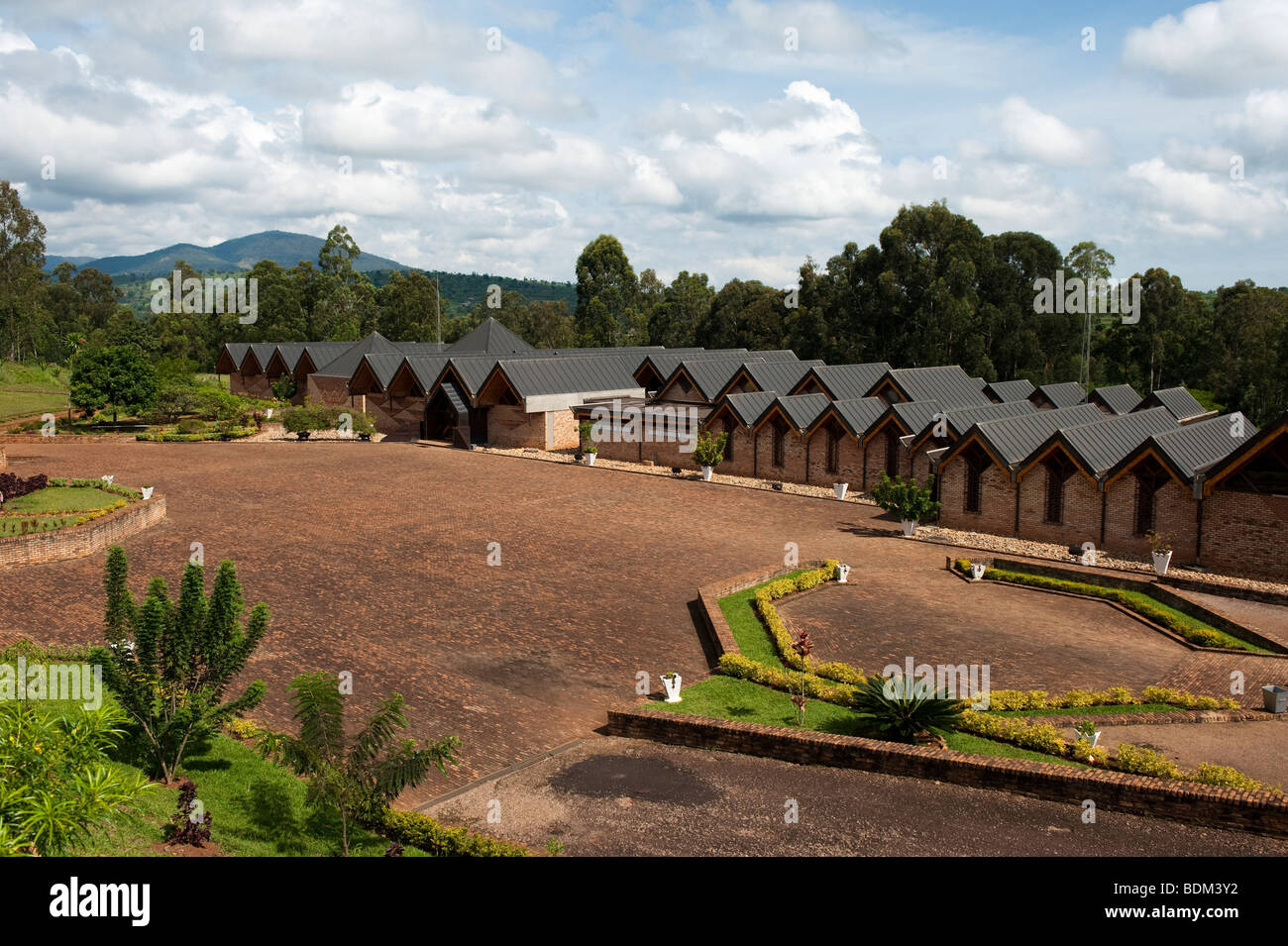 National museum, Butare, Rwanda - Stock Image
