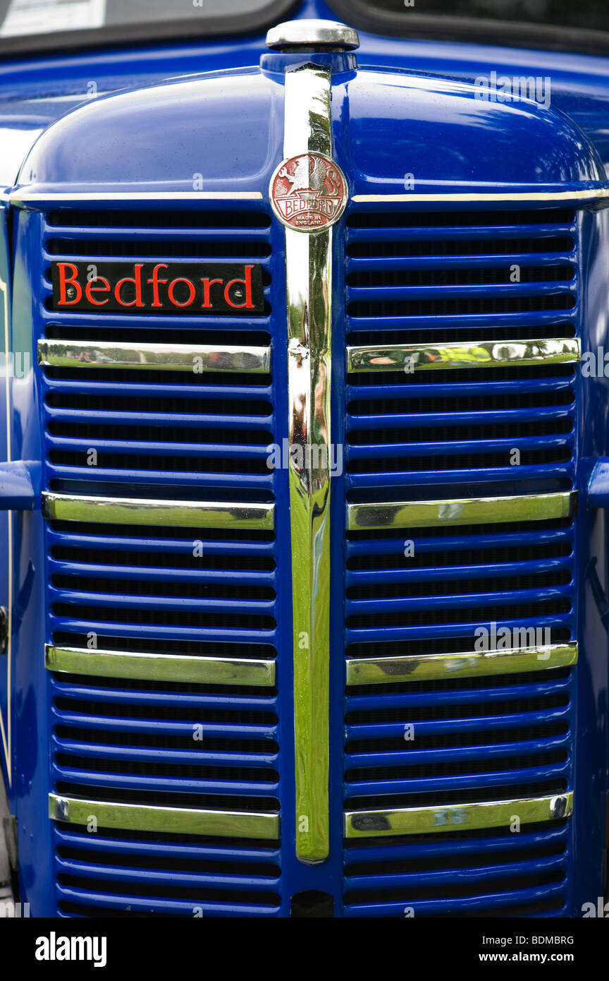Old Bedford truck front end - Stock Image