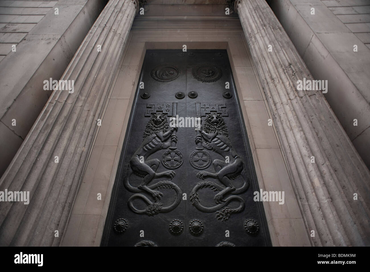 The Bank of England, London - Stock Image