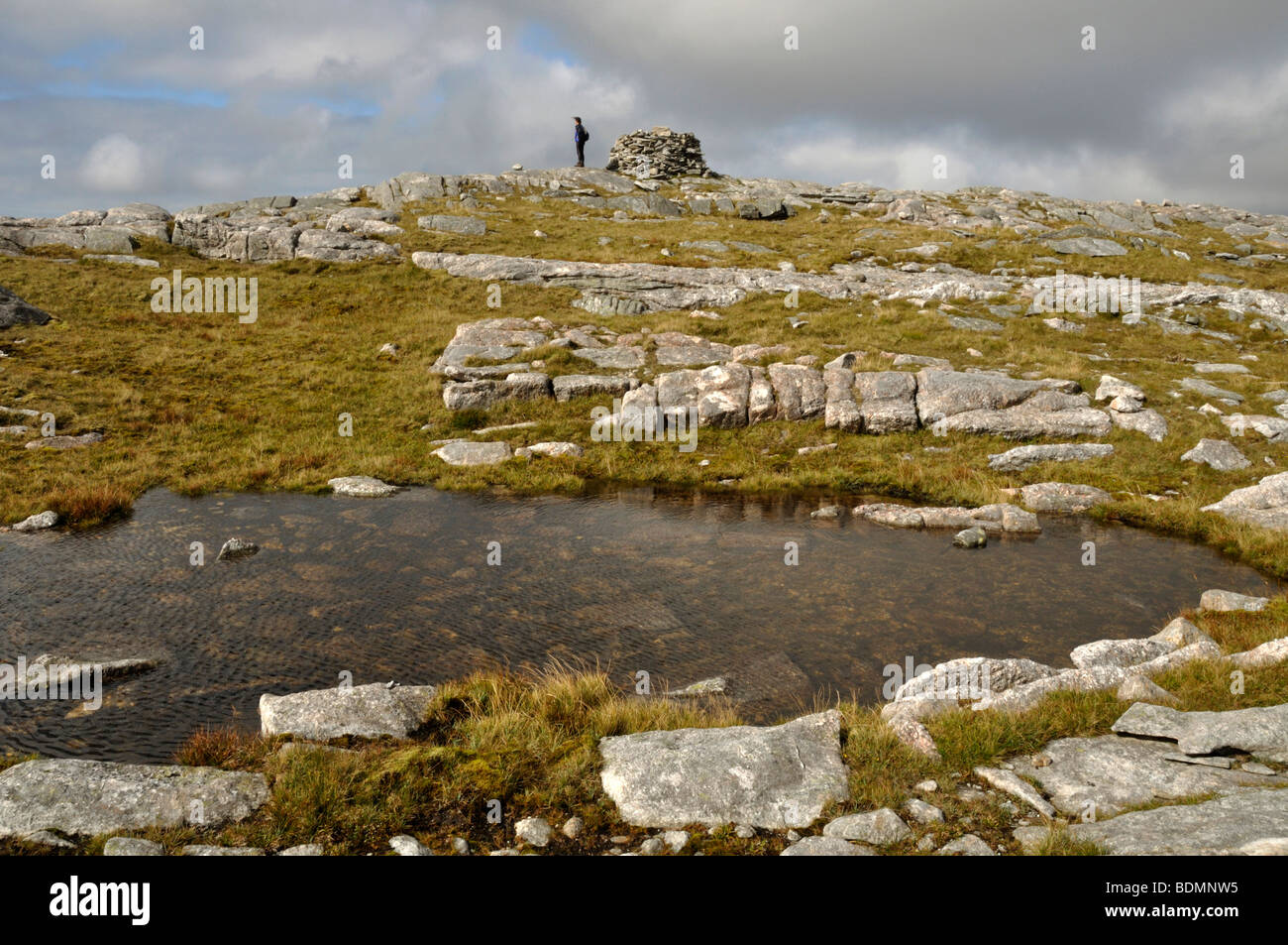 Summit of Griomabhal, Isle of Lewis, Scotland - Stock Image