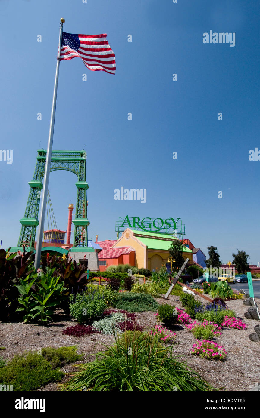 Argosy Casino On The Mississippi River In Alton Illinois A