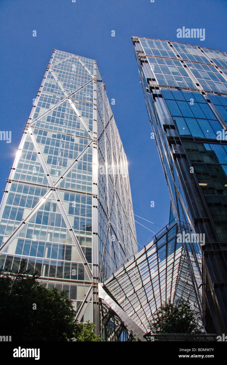 Office building Broadgate City of London England - Stock Image