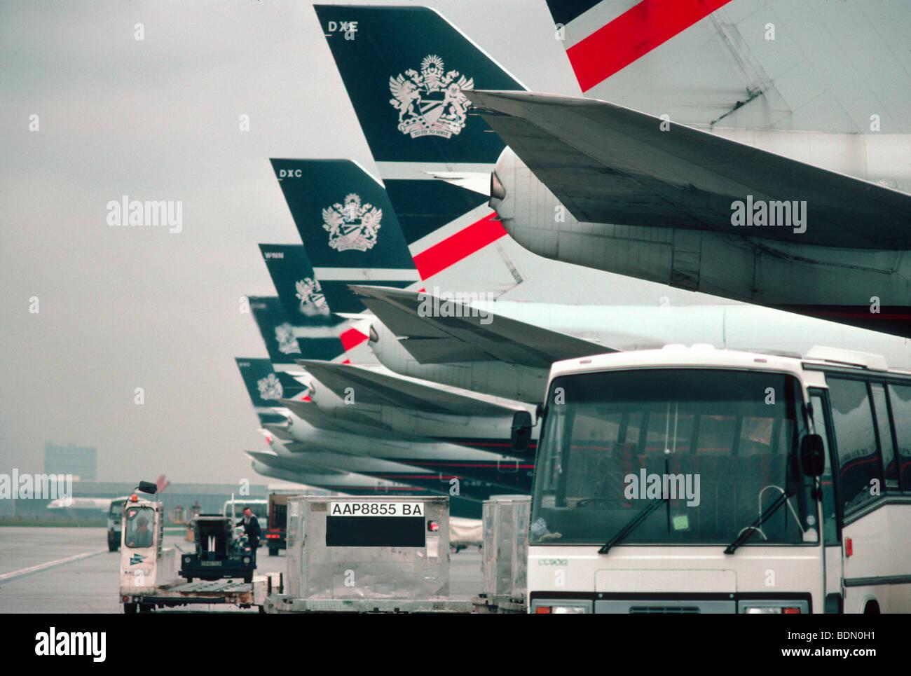 Heathrow International Airport, - Stock Image