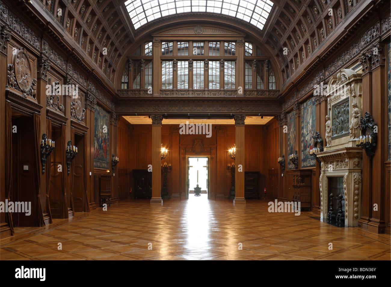 essen villa h gel obere halle stock photo 25664435 alamy. Black Bedroom Furniture Sets. Home Design Ideas