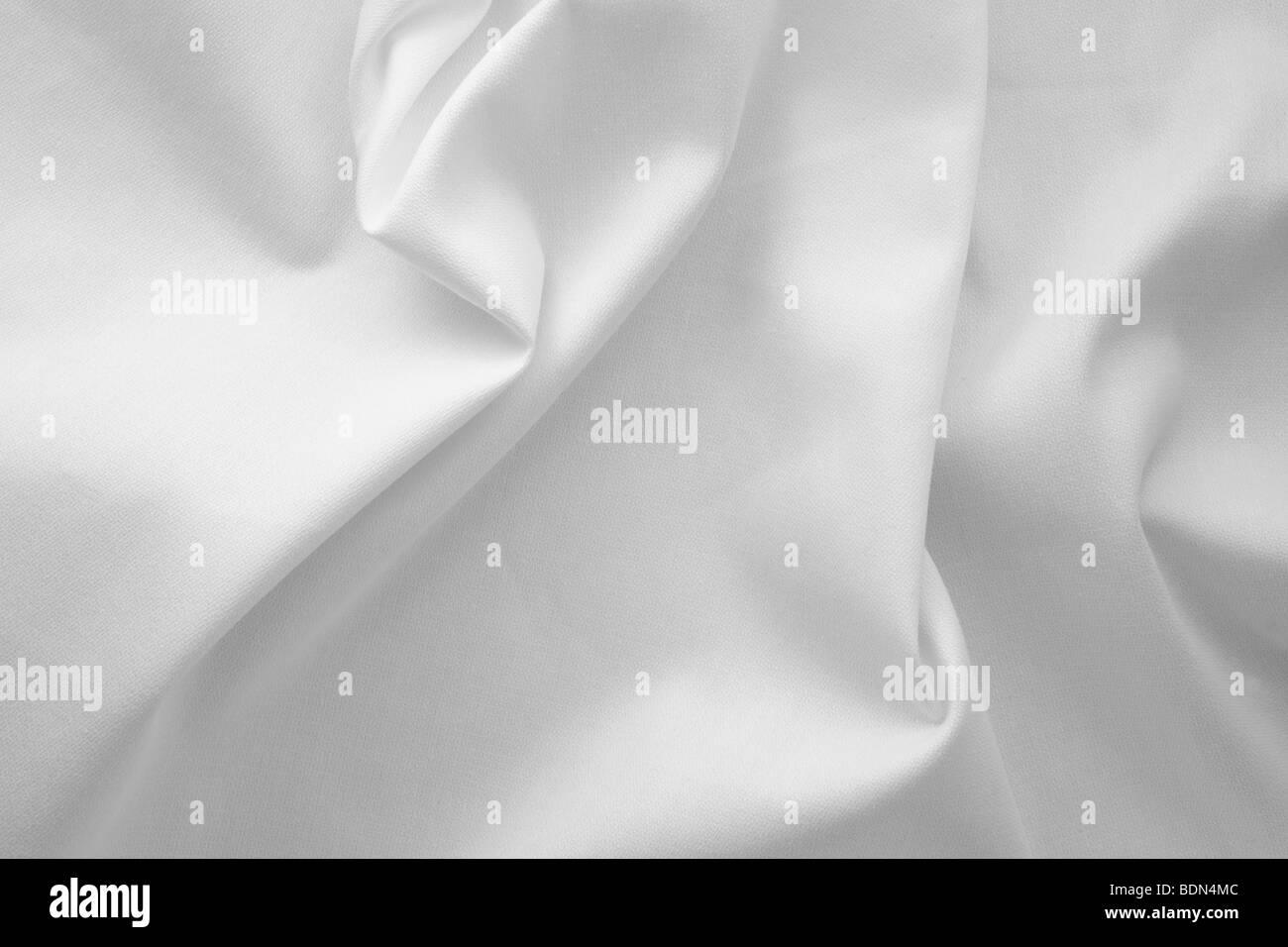 White Fabric - Stock Image