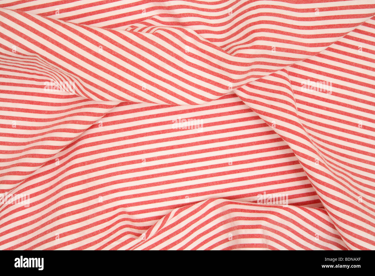Red And White Striped Fabric Stock Photo 25670471 Alamy