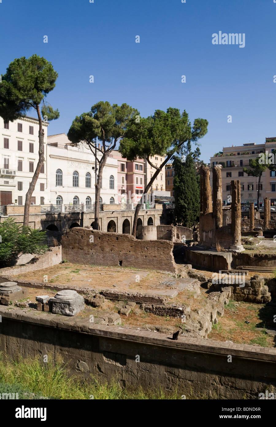 Area Sacra di Largo Argentina, Rome, Lazio, Italy, Europe Stock Photo