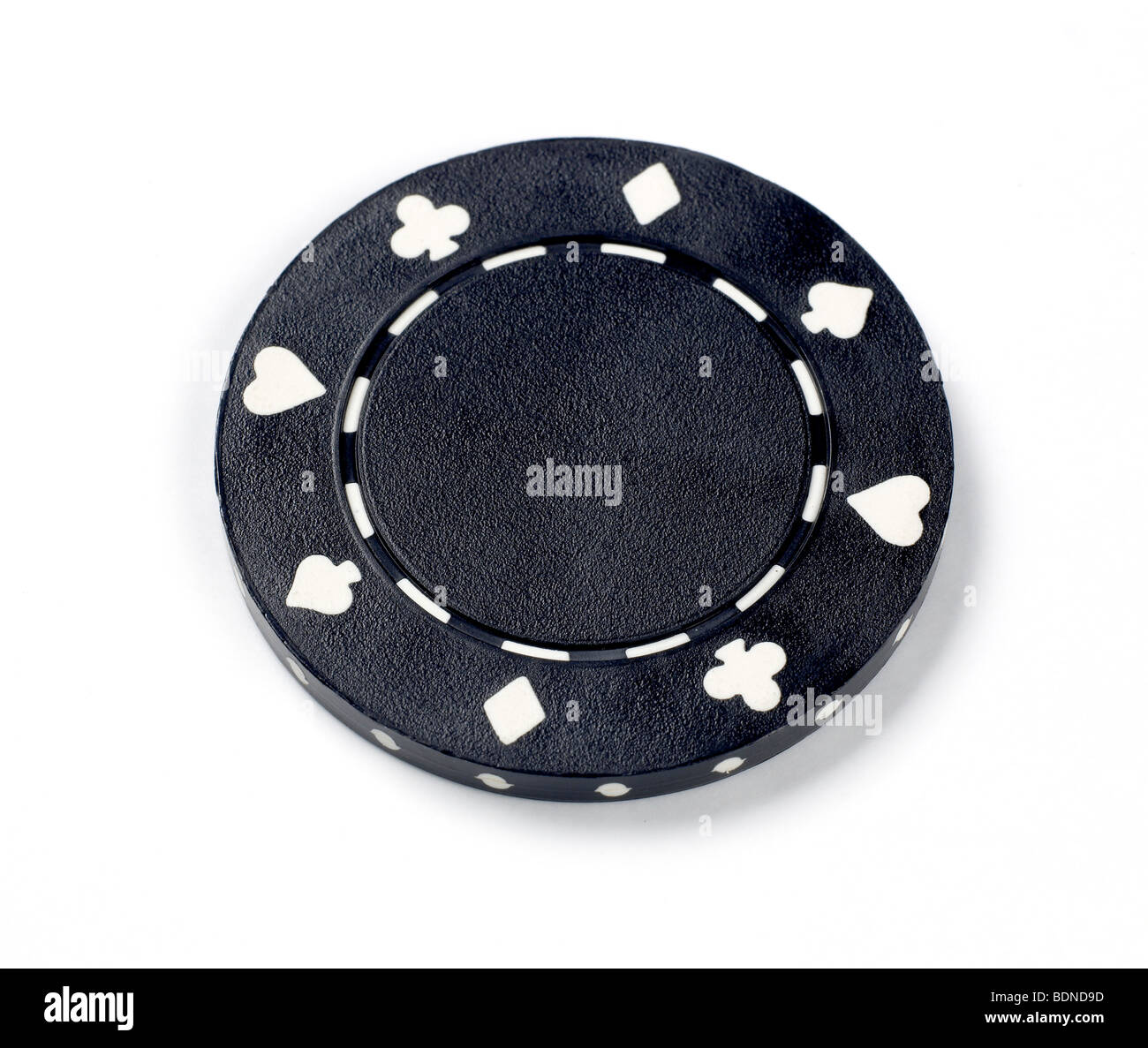 Poker chip Stock Photo