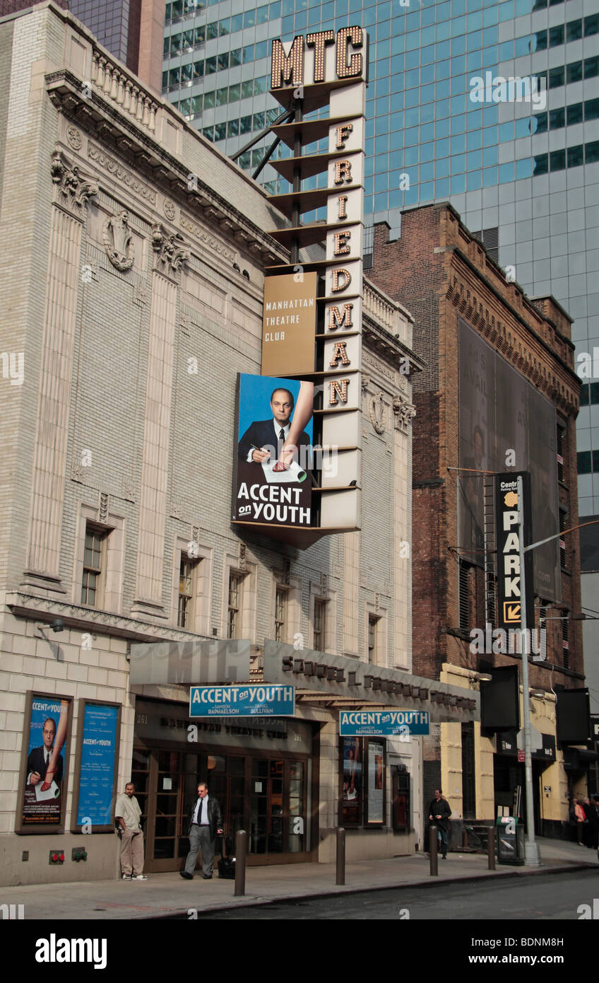 'Accent of Youth' at the Biltmore Theater, 47th Street, New York. - Stock Image