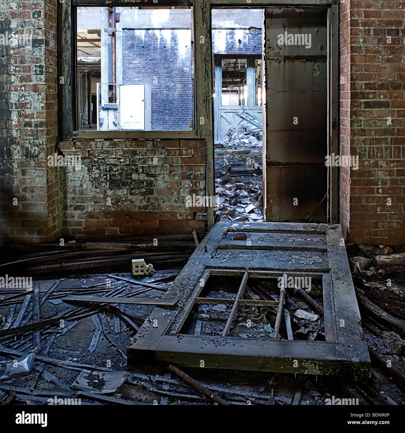 Ordinaire A Broken Down Door