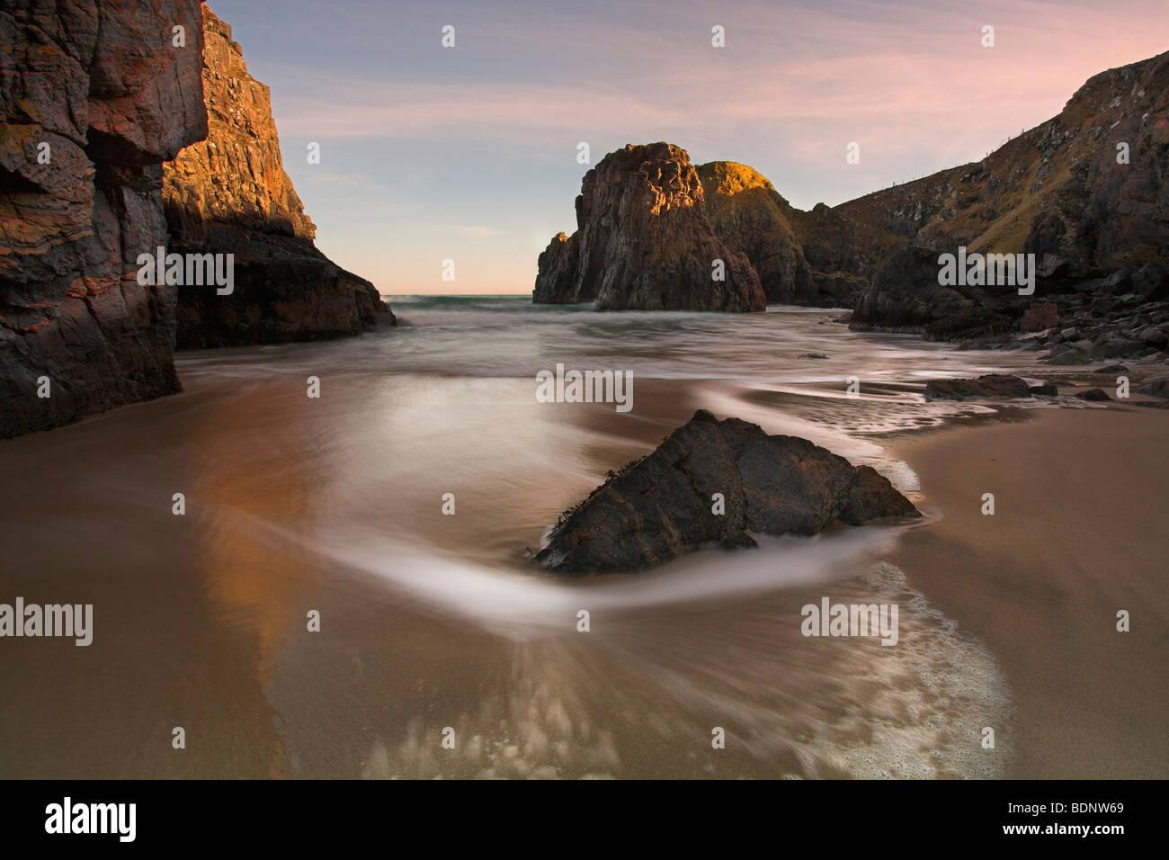 Traigh Ghearadha beach, Lewis, Outer Hebrides, Scotland Stock Photo