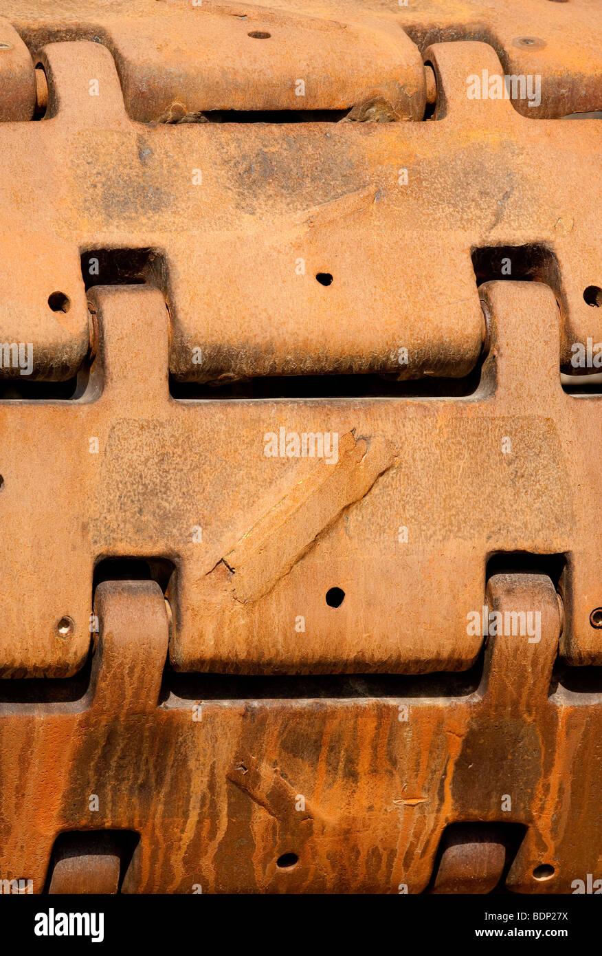 Crawler track Stock Photo