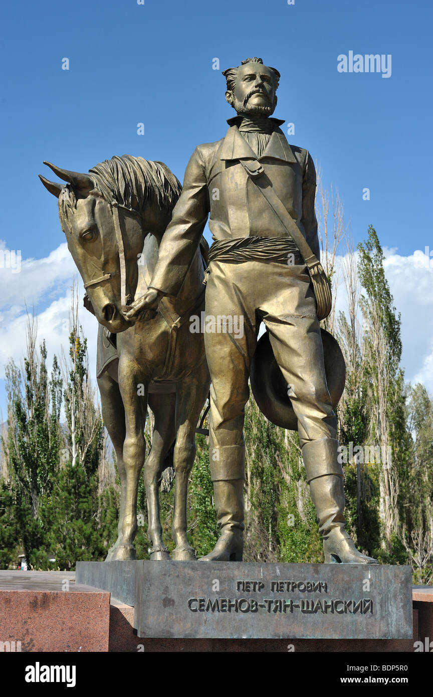 First rushian explorer of Central Asia, Semyonov-Tyan-Shansky - Stock Image