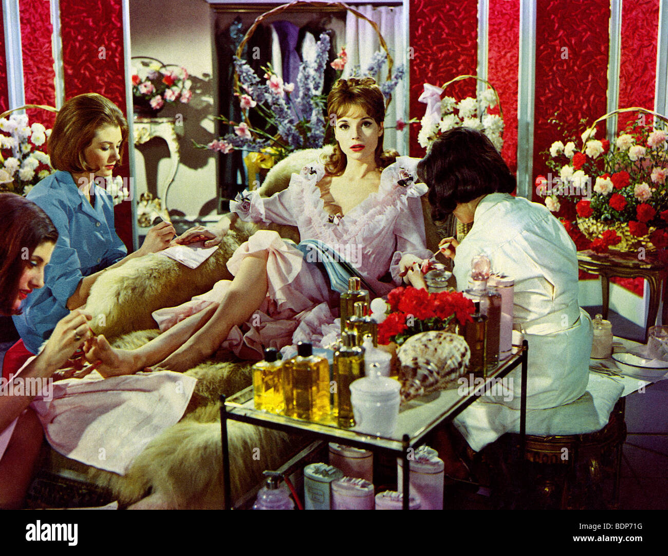THE VIPS - 1963 MGM film with Elsa Martinelli - Stock Image