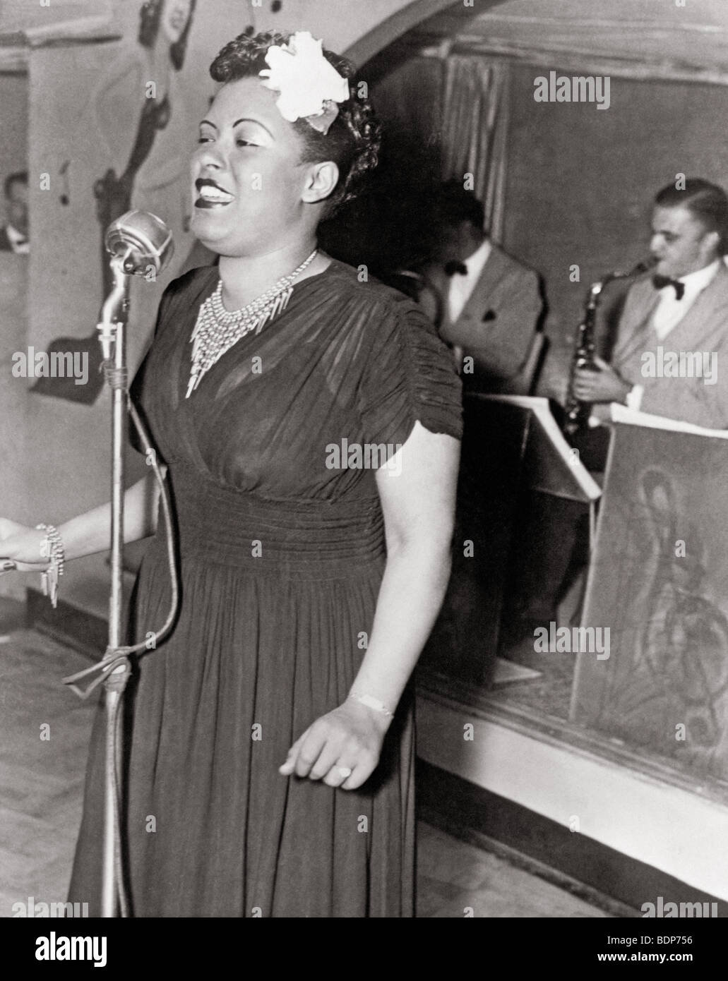 BILLIE HOLLIDAY - US  Blues and jazz singer - Stock Image