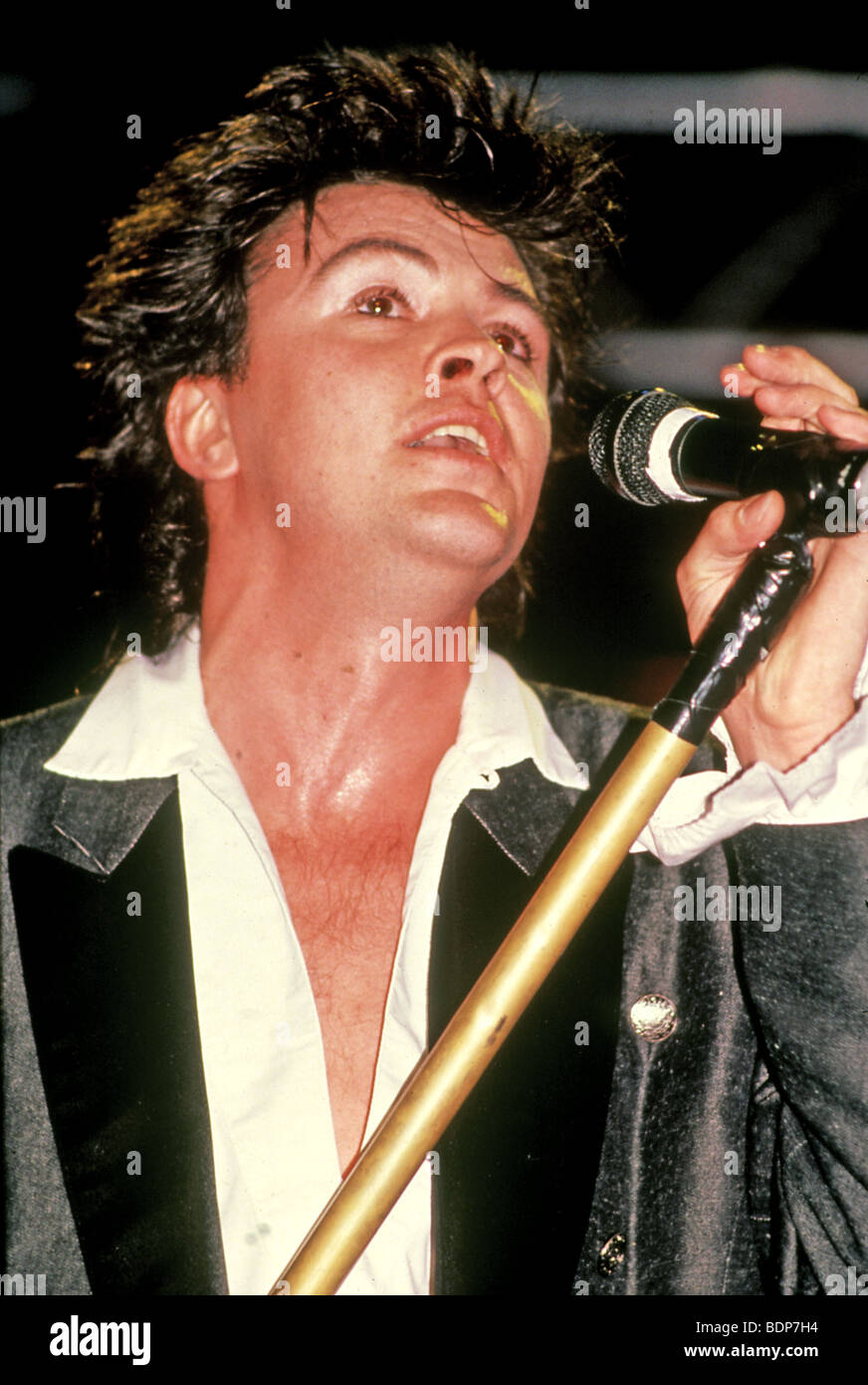 PAUL YOUNG - UK pop singer about 1985 - Stock Image