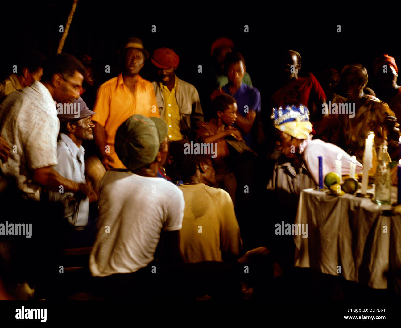 Jamaica Kumina Queen & Obeah Man In Trance Stock Photo: 25692633 - Alamy