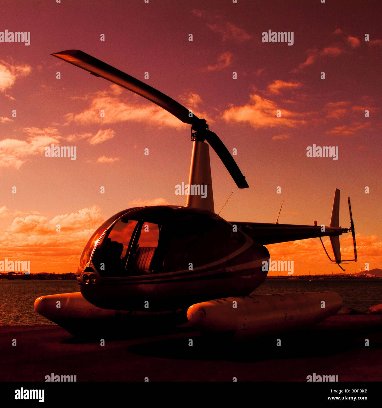 Robinson R44 Astro Helicopter 2006 - Stock Image