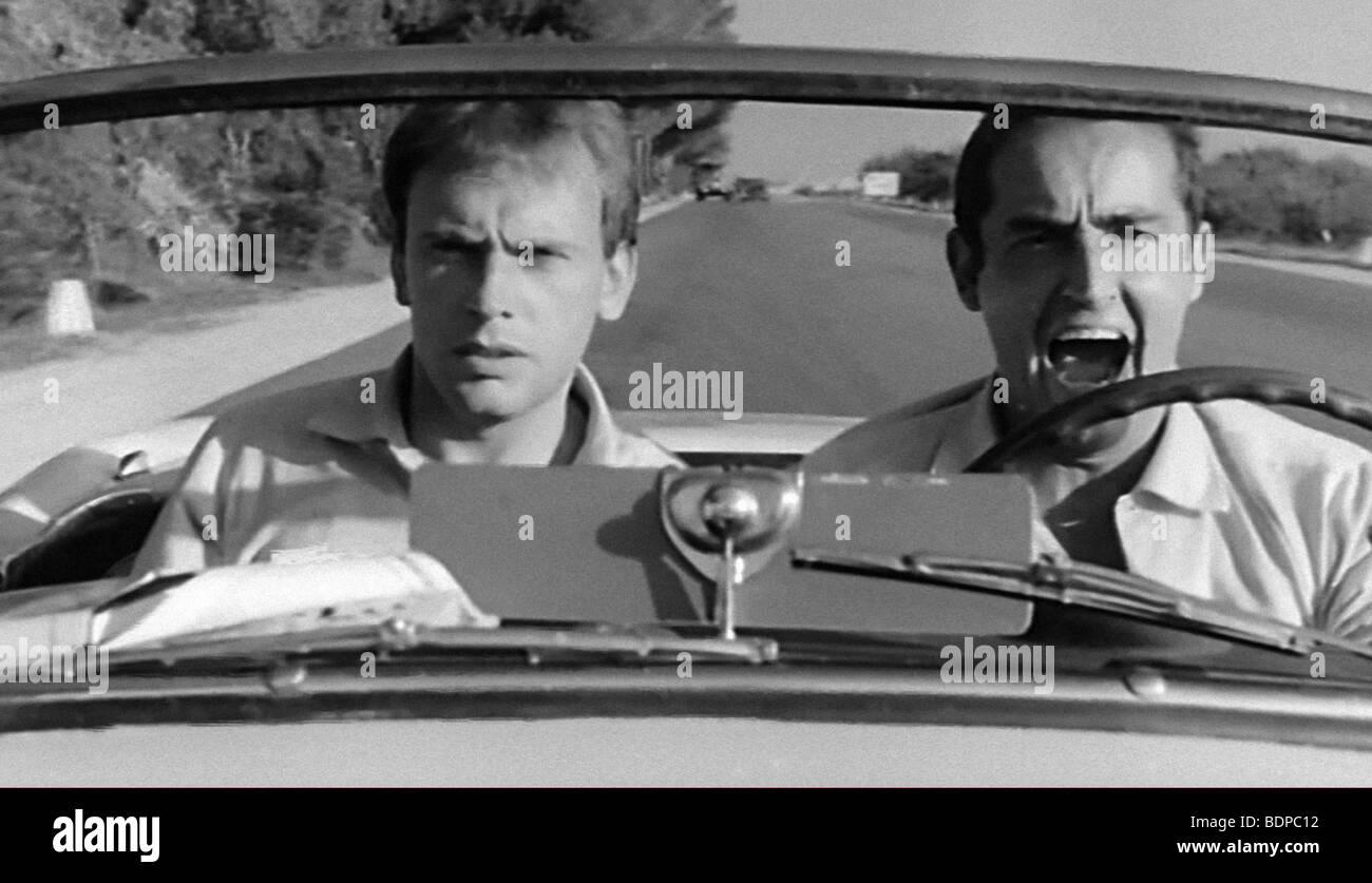 Il Sorpasso Year : 1962 Director : Dino Risi Vittorio Gassman, Jean-Louis Trintignant - Stock Image