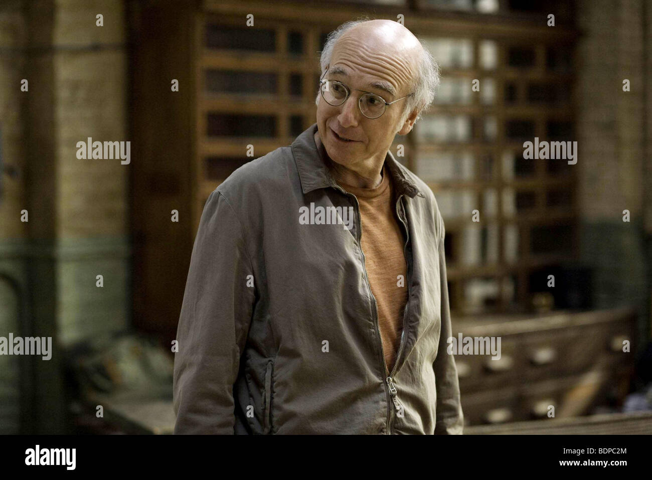 Whatever Works Year : 2009 Director : Woody Allen Larry David - Stock Image