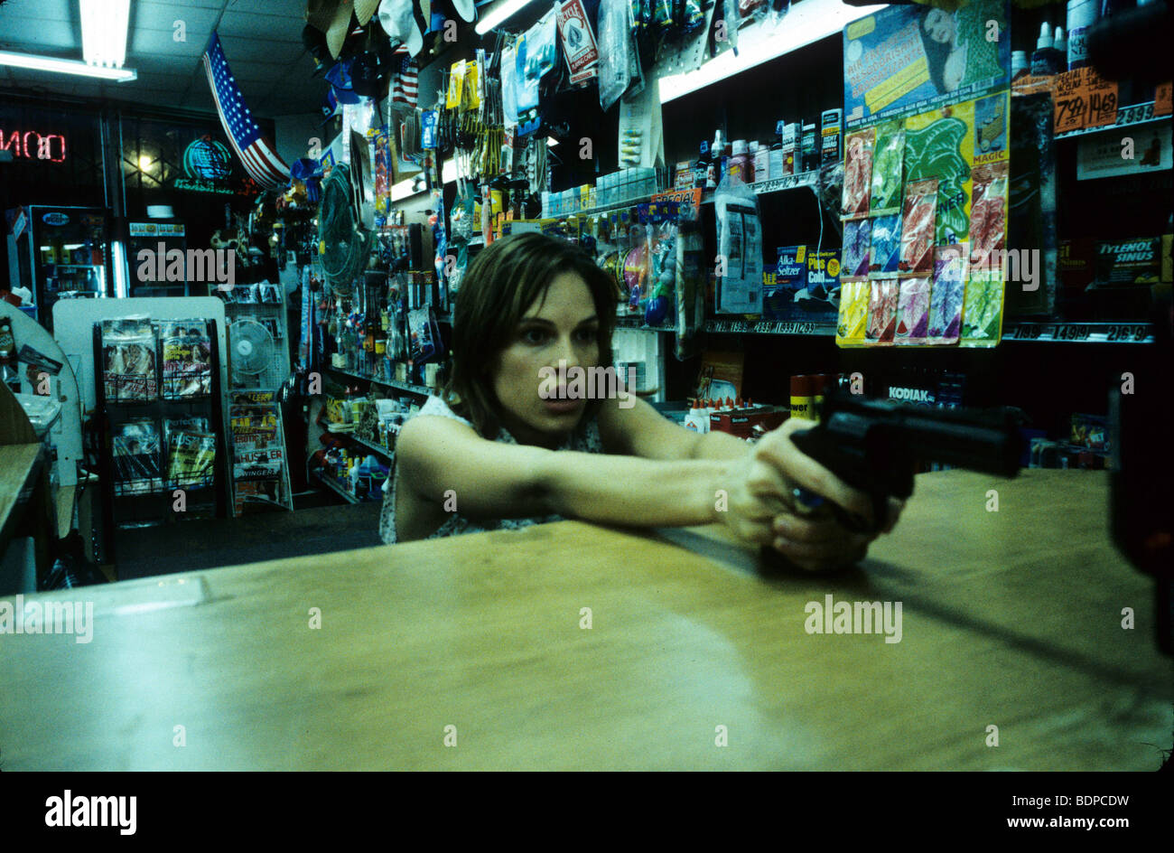 11.14 Year : 2004 Director : Greg Marcks Hilary Swank - Stock Image