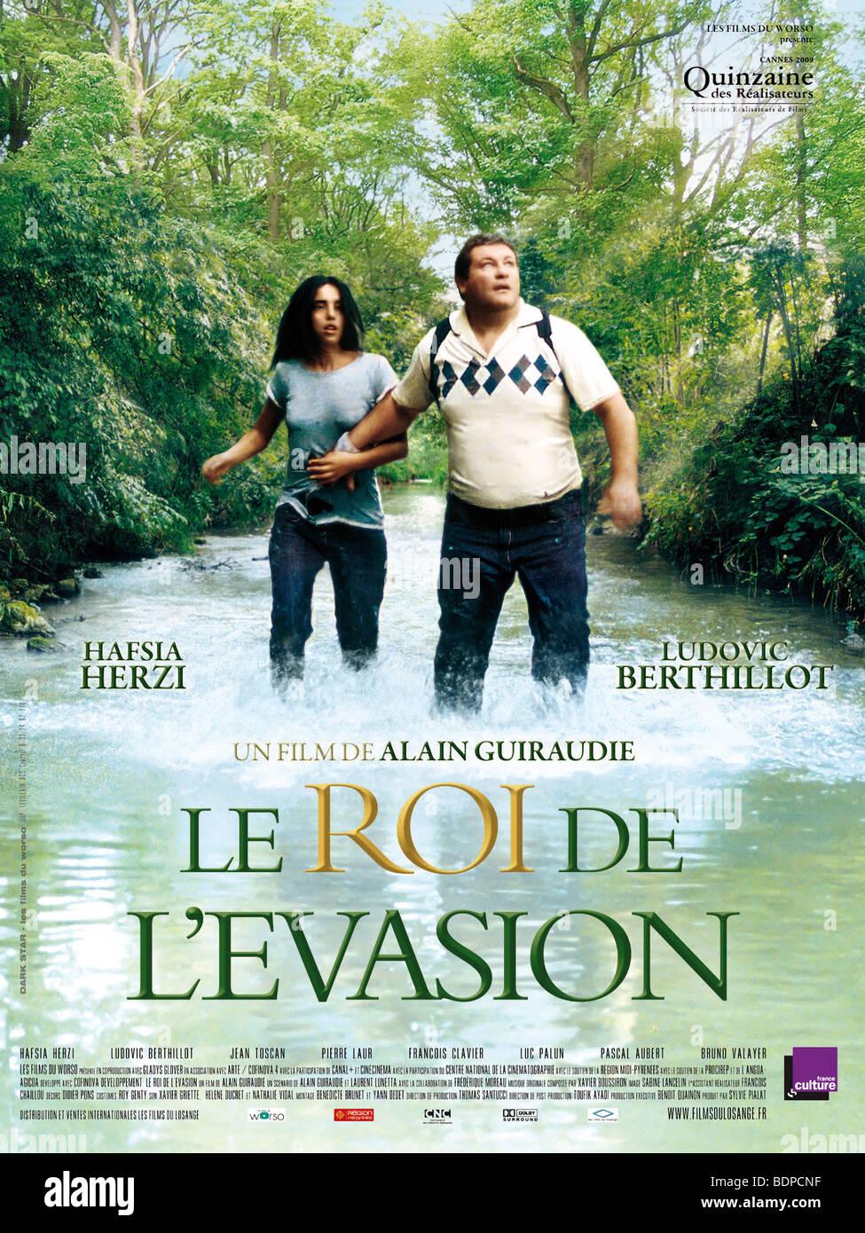Le Roi de l'évasion Year : 2009 Director : Alain Guiraudie Ludovic Berthillot, Hafsia Herzi Movie - Stock Image