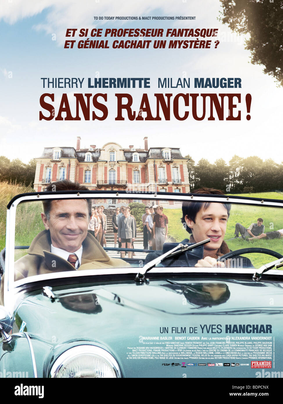 Sans rancune Year : 2009 Director : Yves Hanchar Thierry Lhermitte, Milan Mauger Movie poster (Fr) - Stock Image