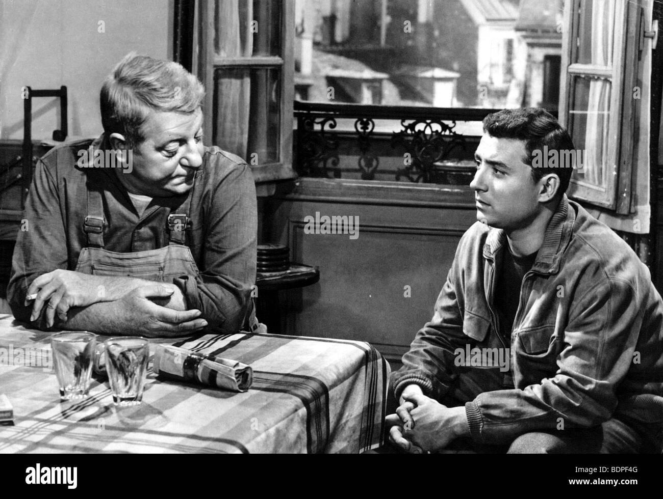 Rue des Prairies Year: 1959 Director: Denys de la Patellière Claude Brasseur,  Jean
