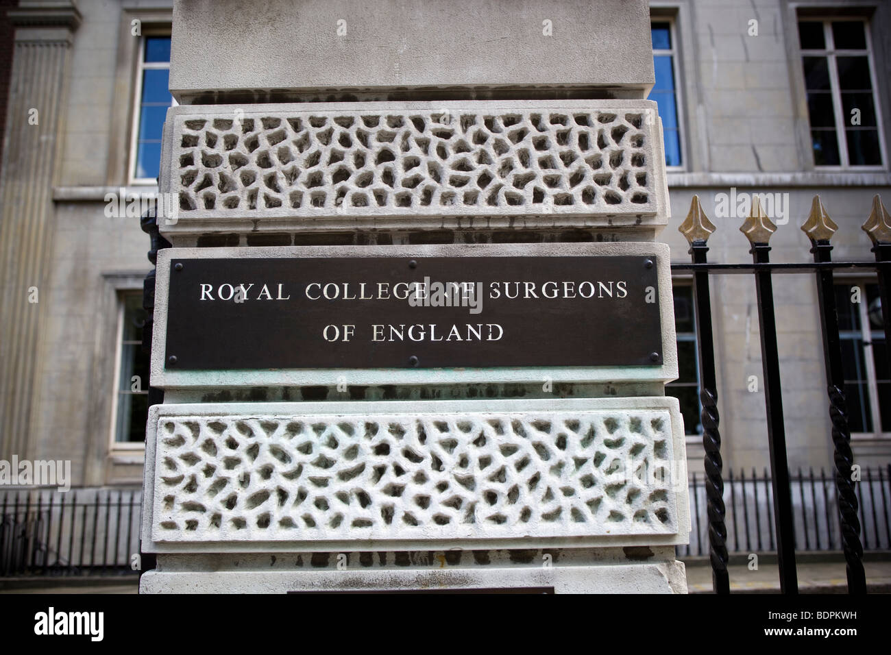 Royal College of Surgeons Lincolns Inn Fields London - Stock Image