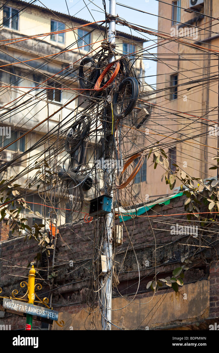 Wondrous Wires India Stock Photos Wires India Stock Images Alamy Wiring 101 Ferenstreekradiomeanderfmnl