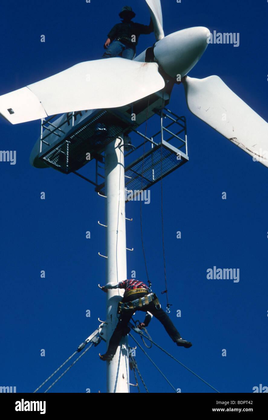 Windmills at Altamont Pass - Stock Image