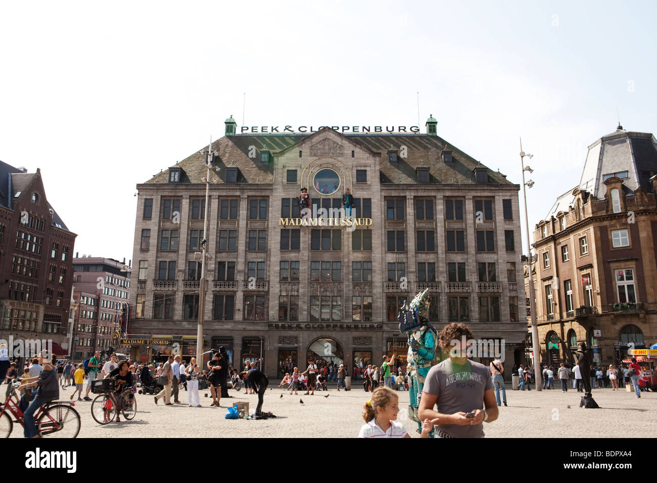 Madame Tussaud Amsterdam Dam Square, Holland - Stock Image