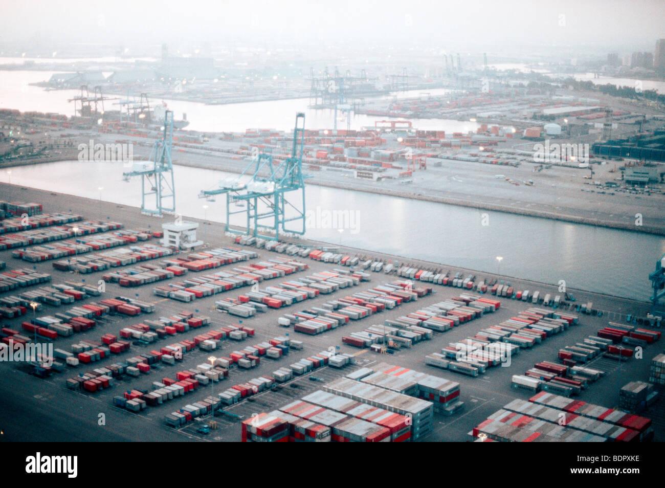Port of Long Beach - Stock Image