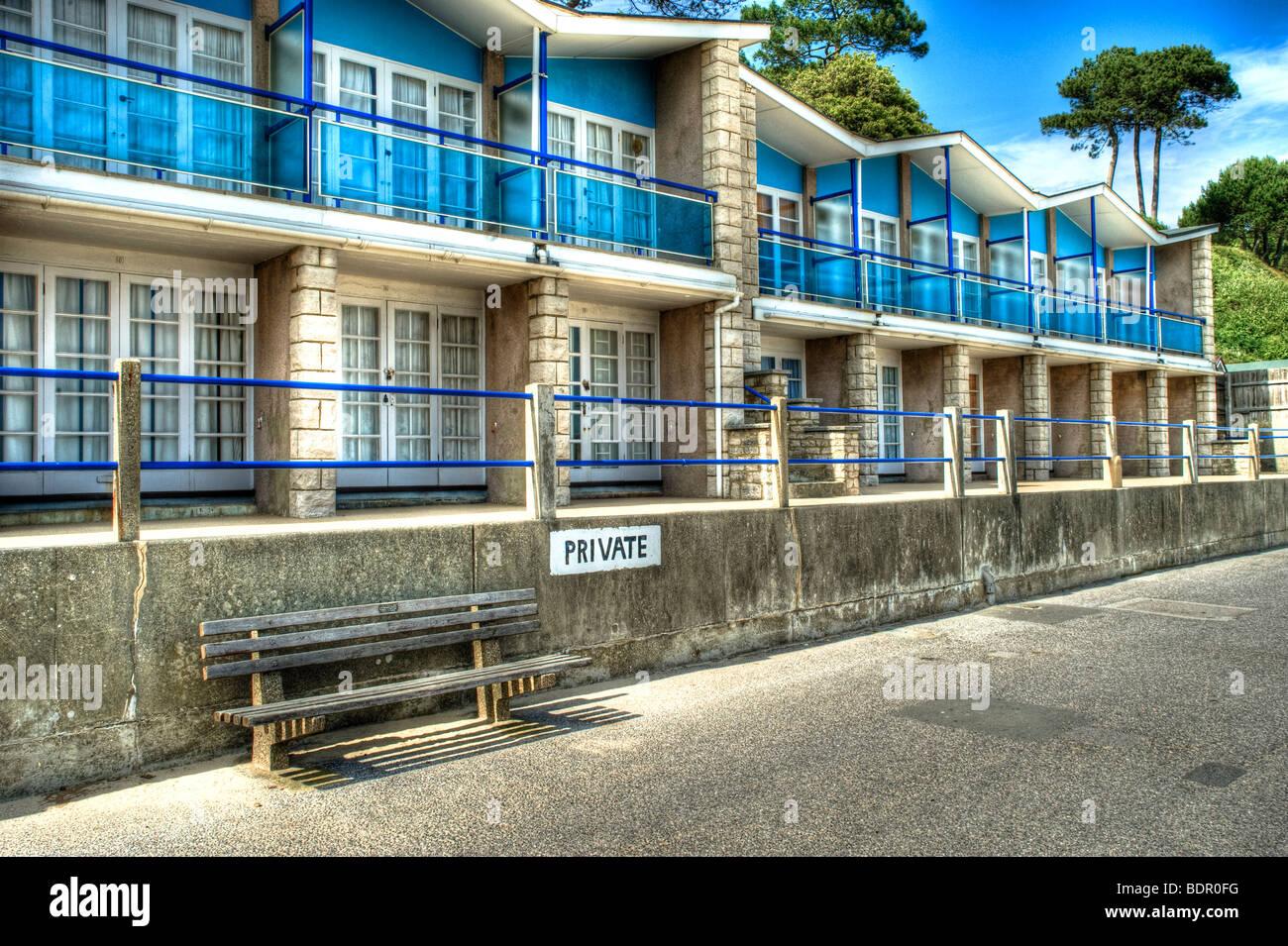 Beach houses - Stock Image